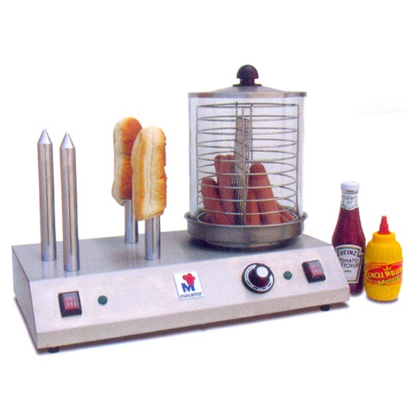 machine hot dog professionnelle masamar pc 4 cuisson