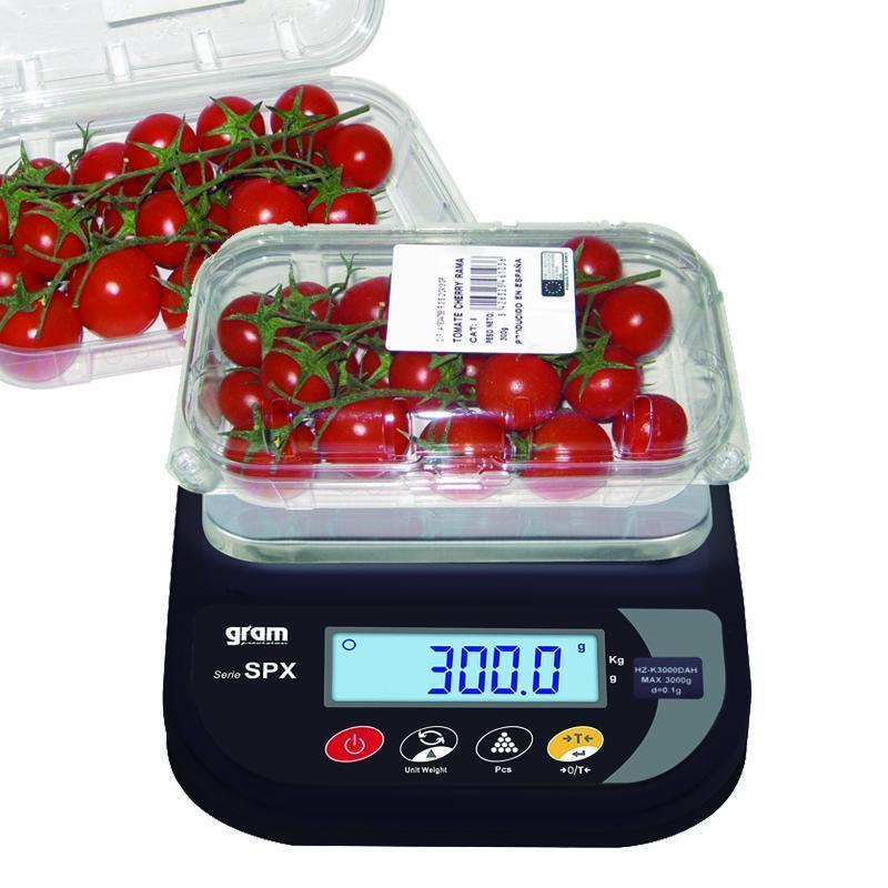 Balanza electronica gram spx 1000d for Balanza cocina 0 1 g