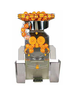 MAXI Automatic orange Juicer. 40 to 65 oranges/minute - Stainless steel